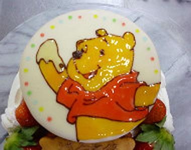 プレートデザインケーキ