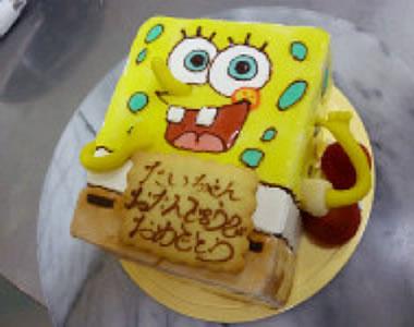 立体オーダーケーキ